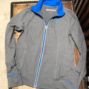 Abercrombie athletic jacket